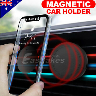 AU12.95 • Buy 2x Car Magnet Magnetic Air Vent Mount Holder Universal For Mobile Cell Phone