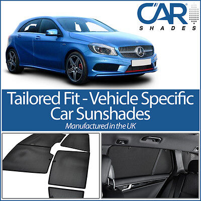 Mercedes A Class 5dr 2012 On UV CAR SHADES WINDOW SUN BLINDS PRIVACY GLASS TINT  • 82.19£