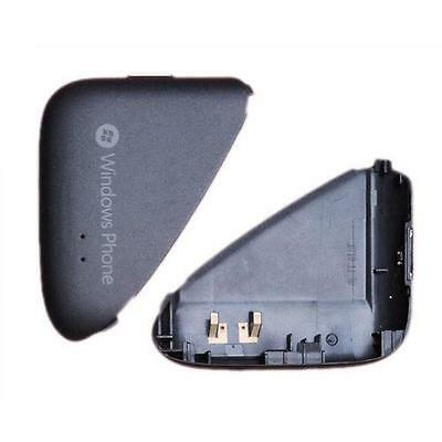 Black Battery Back Cover Rear For HTC 7 Mozart Original Replacement Part • 1.59£