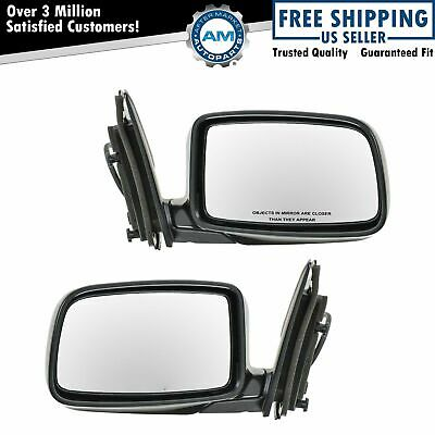 $63.59 • Buy Folding Power Side View Mirrors Left & Right Pair Set For 02-07 Lancer