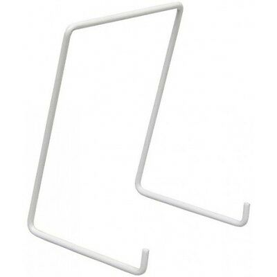 WIRE PLATE STANDS (WHITE) LARGE SIZE PLATES 24-28cm NEW • 1.20£