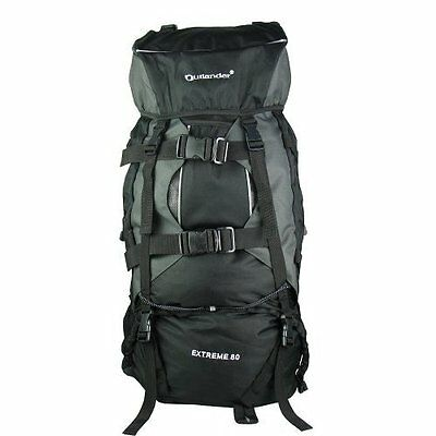 AU52.99 • Buy 80L Extral Load Outdoor Backpack Rucksack Bag Camping Hiking Travel GST Is Inc