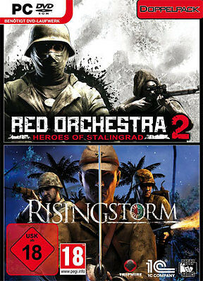 £25.56 • Buy PC Computer Spiel Red Orchestra 2 Heroes Of Stalingrad + Rising Storm*NEU*NEW*18