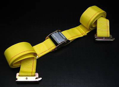 $6.95 • Buy 1 12' E Track Strap W Cam Buckle F Enclosed Trailer Truck Trailer Tie Down Strap