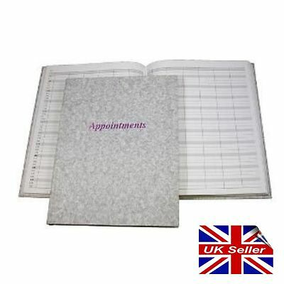 Beautician Beauty Appointment Book Diary Hairdresser Therapist Stylist 6 Column • 11.95£