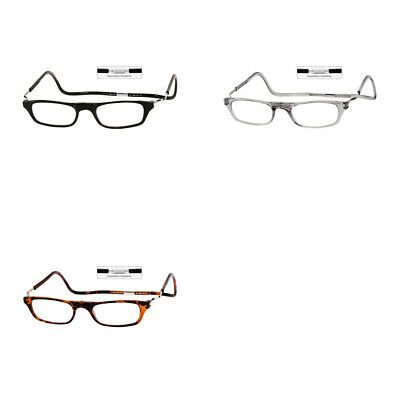 4f7a441cfdbd DW Clic XXL Adjustable Front Connect Magnetic Reading Glasses Frame  Expandable • 32.95
