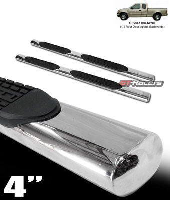 $130 • Buy For 1997-2004 Ford F150 Super Cab 4  Chrome Side Step Nerf Bars Running Boards