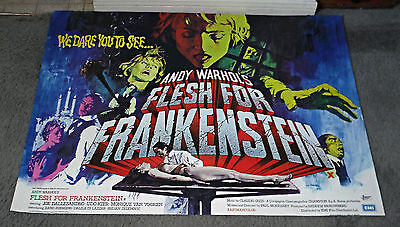 $383.99 • Buy ANDY WARHOL'S FRANKENSTEIN Orig Quad 30x40 Movie Poster JOE DALLESANDRO/UDO KIER