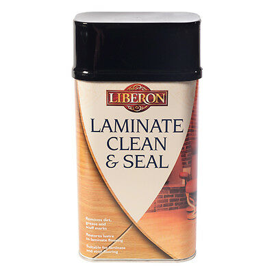 Liberon Clean And Seal Laminate Floor Cleaner 1 Litre Non-Aggressive Cleaner • 14.99£