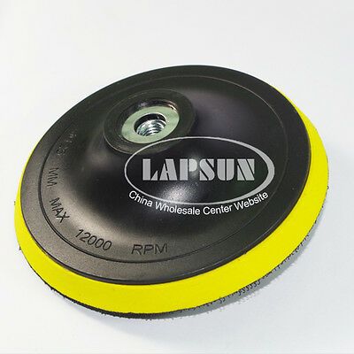5'' 125mm Polisher Bonnet Backing Self-adhesive Pad Angle Grinder Wheel Disc • 4.99£
