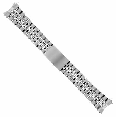 $ CDN52.20 • Buy 20mm Jubilee Watch Band Stainless Steel Bracelet For 36mm Rolex 1601 Top Quality
