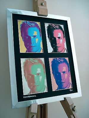 Gary Barlow Take That Ltd Edition Signed Pop Art Canvas • 24.99£