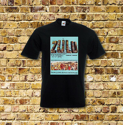 Zulu Film T Shirt Black Or White Or Red • 14.99£