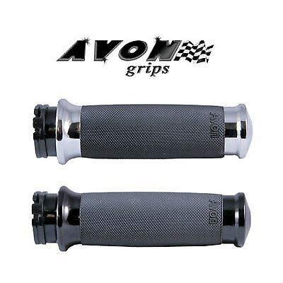 $46.45 • Buy Avon Custom Contour Motorcycle Grips V Rod Night Rod Roadster Harley Davidson