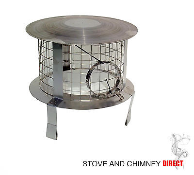 £74.95 • Buy 2 X Chimney Cowls / Chimney Bird Guards   ( Stainless Steel)
