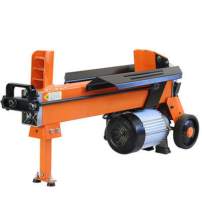 5 Ton Electric Log Splitter Wood Axe Hydraulic Cutter With Duo Blade  Fm10d • 319.49£