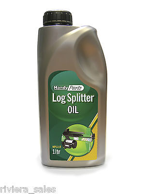 Handy Log Splitter Oil High Viscosity Hydraulic Oil 1ltr Suits Petrol & Electric • 9.85£