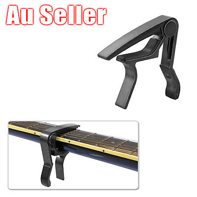 AU6.95 • Buy Aluminum Guitar Capo Spring Trigger Electric Acoustic Clamp Quick Change Release