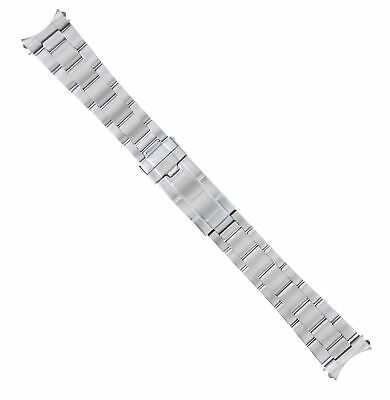 $ CDN44.12 • Buy Oyster Watch Band Bracelet For Rolex Yachtmaster 20mm Flip Lock Stainless Steel