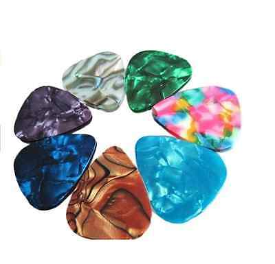 $ CDN0.99 • Buy 10pcs Multi Color Celluloid Acoustic Electric Guitar Picks Plectrum Thin CH