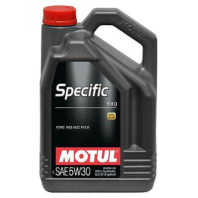 $ CDN68.53 • Buy Motul Ford/Jaguar/Mazda Specific 913D 5W30 Fully Synthetic Engine Oil - 5 Litres