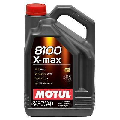 Motul 8100 X-Max 0W40 Fully Synthetic Engine Oil - 5 Litres • 51.36£