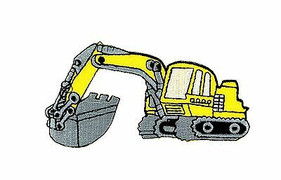 AU5.14 • Buy Patch Backpack Excavator Trackhoe Kids Clothes Bulldozer Tractor Loader Ion