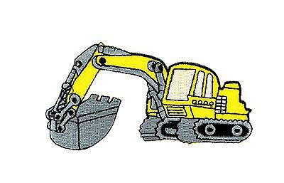 AU5.04 • Buy Patch Backpack Excavator Trackhoe Kids Clothes Bulldozer Tractor Loader Ion