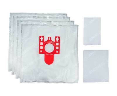 Miele FJM Vacuum Cleaner Hoover Dust Bags + Filters C2 C1 Compact HEPA Solution • 4.89£