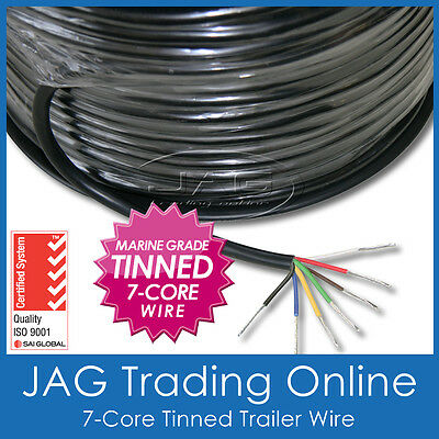 AU13.95 • Buy 7-core Marine Grade Tinned Wire - Automotive/boat/caravan/rv Electrical Cable