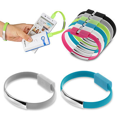 $1.48 • Buy Micro USB Cable Bracelet Wristband Charger Charging Data Sync Cord Fr Cell Phone
