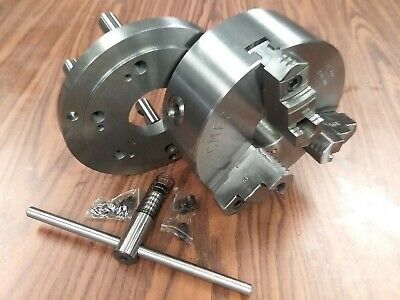 AU260.86 • Buy 8  3-JAW SELF-CENTERING LATHE CHUCK D1-6 MOUNTING ADAPTER#0803D6--new