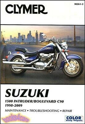 $32.49 • Buy Suzuki Intruder Shop Manual 1500 Service Repair Clymer Book
