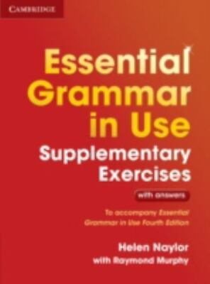 £12.35 • Buy Essential Grammar In Use Supplementary Exercises: To Accompany Essential Grammar