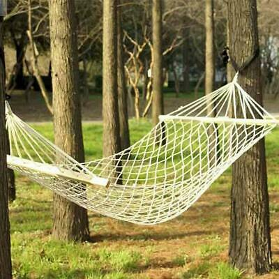 View Details Hammock Chair Swing Hanging Rope Seat Net Chair Tree Outdoor Porch Patio Indoor • 15.21$