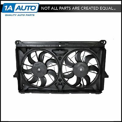 $164.95 • Buy Radiator Cooling Dual Fan W/ Motors Blades For GMC Chevy Pickup Truck SUV