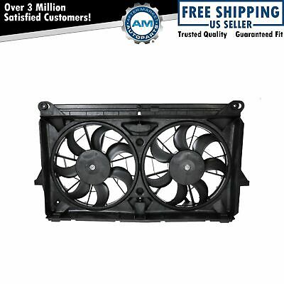 $151.69 • Buy Radiator Cooling Dual Fan W/ Motors Blades For GMC Chevy Pickup Truck SUV