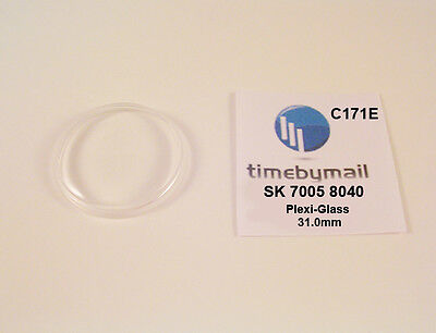 $ CDN26.44 • Buy New Watch Crystal For SEIKO 7005 8040 Automatic Plexi-Glass New Spare Part C171E