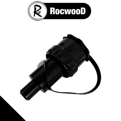 £10.25 • Buy Black Petrol Anti Spill Spout For Rocwood Chainsaw Combi Combination Fuel Can