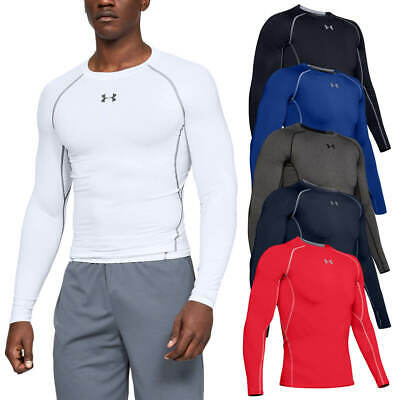 View Details Under Armour Mens 2019 HeatGear Armour LS Compression T Shirt Layer 27% OFF RRP • 23.99£