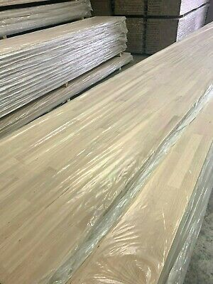 SOLID OAK WORKTOP 40mm STAVES! 1M 2M 3M, 40mm/27mm/20mm Thick Top Quality Wood! • 19.50£