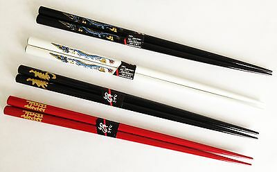 Real Chinese Chopsticks - 4 Separate Stunning Designs Available + Complete Set! • 2£