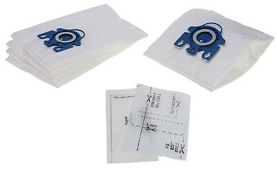 5 X GN Type Vacuum Dust Bags For Miele Complete C2 C3 Powerline Silence Ecoline • 7.49£