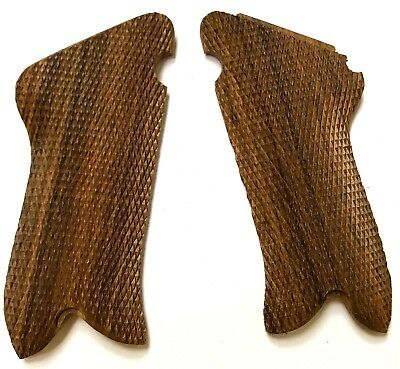 Wwi Wwii German P08 P-08 Luger Wooden Pistol Grips -pair • 21.63£