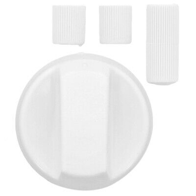 White Cooker Oven Grill Hob Control Knob Dial & Adaptors For Tricity Bendix • 3.49£