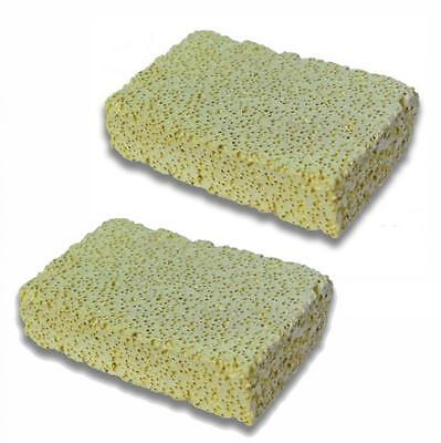 Aquarium Fish Tank Ceramic Filter Media Porous Block Rectangle Slab 13 X 8 X 3cm • 7.64£