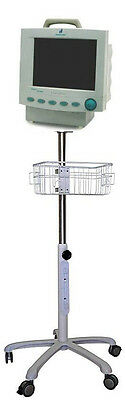 $279 • Buy Rolling Stand For Critikon Dinamap MPS Select Patient Monitor (small Wheel )