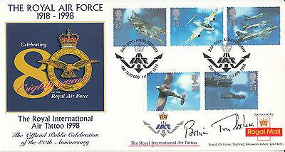 £59.95 • Buy Rare The Royal International Air Tattoo 1998. Signed By Brian Trubshaw