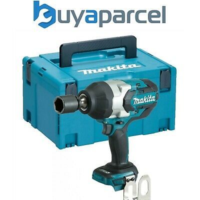 Makita DTW1001Z 18v LXT Brushless Cordless Impact Wrench 3/4 Drive + MakPac Case • 260.93£