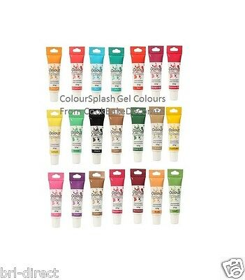 £2.99 • Buy Colour Gel Food Colouring 25g Tube - Buttercream Fondant Icing Marzipan Cake Mix